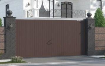 Как правильно подобрать ворота для загородного участка?